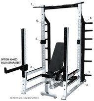 YORK Commercial Multi-Function Power Rack   #55000