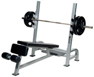 York ST Olympic Decline Bench w/Gun Racks    55039