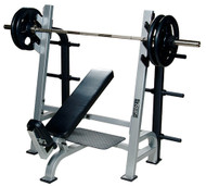 York ST Olympic Incline Bench w/Gun Racks    55038