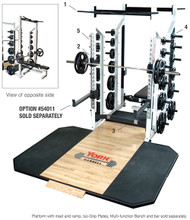 York Barbell STS Commercial Double Sided Half Rack   #55014