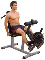 Body Solid Seated Leg Extension & Supine Leg Curl GLCE365