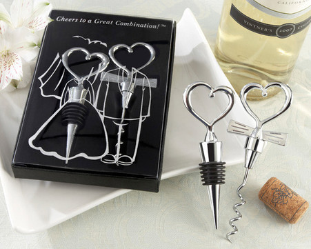 Wedding Favors - Kate Aspen Cheers to a Great Combination Wine Set