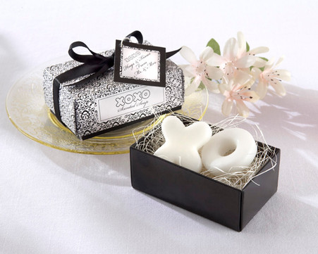 Bridal Shower Gifts and Wedding Favours - Kate Aspen Hugs & Kisses From Mr. And Mrs.! Scented Soaps