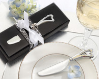 Wedding Party Favors - Kate Aspen Spread the Love Chrome Spreader with Heart-Shaped Handle