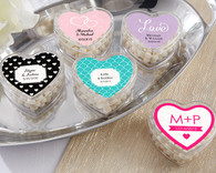 Wedding Favor Boxes and Personalized Wedding Favors - Kate Aspen Heart Favor Container