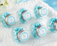 Wedding Favor Boxes and Personalized Wedding Favors - Kate Aspen Mini Glass Favor Jar
