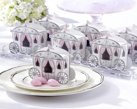 Wedding Favor Boxes - Kate Aspen Enchanted Carriage Favor Boxes
