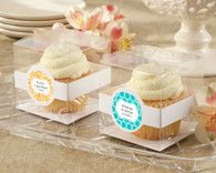 Wedding Favor Boxes and Personalized Wedding Favors - Kate Aspen Cupcake Boxes