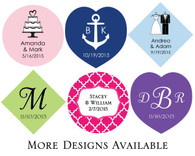 Personalized Wedding Favors - Kate Aspen Personalized Tags (Set of 36)
