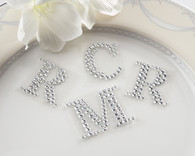 Personalized Wedding Favors - Kate Aspen Jeweled Monogram Letters