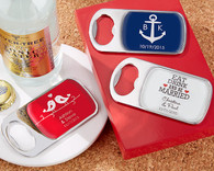 Wedding Favor Ideas - Kate Aspen Personalized Bottle Opener with Epoxy Dome. Bottle Openers to make your day special.