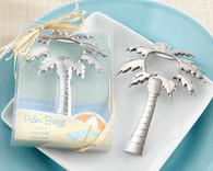Wedding Favors Canada - Kate Aspen Palm Breeze Chrome Palm Tree Bottle Opener. Bottle Openers to make your day special.
