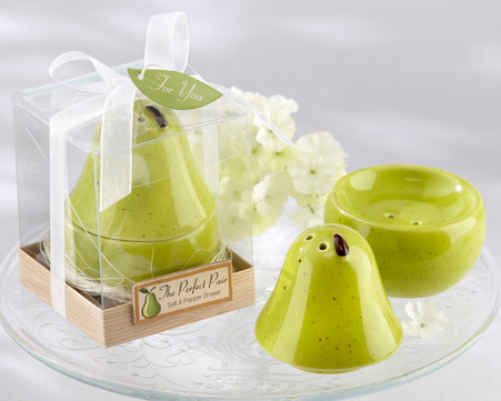 Wedding Gifts  - Kate Aspen The Perfect Pair Salt & Pepper Shaker. Salt and Pepper Shakers to make your wedding day special.