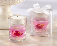 Bridal Shower Gifts - Kate Aspen Elegant Orchid Tealight Holder. Candle Wedding Favors to make your wedding day special.