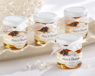 Unique Wedding Favors - Kate Aspen Meant to Bee Personalized Clover Honey. Edible Favors to make your wedding day special.