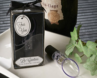 Wedding Favors - Artisano Designs La Cantina Wine Aerator & Pourer. Wine Bottle Stoppers to make your day special.