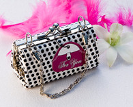 Bridal Shower Gifts - Artisano Designs Posh Polka Dot Mini Change Purse. Manicure/ Pedicure Set to make your day special.