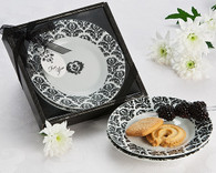 Unique Wedding Favors - Artisano Designs Dramatic Damask Party Dish Favor (Set of 2). Candy/ Party Dish to make your day special.