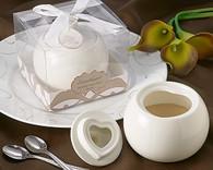 Wedding Gifts  - Artisano Designs Sweetheart Porcelain Sugar Bowl. Sugar Bowl to make your day special.
