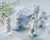 Wedding Gifts  - Artisano Designs Little Angel Cherub Figurine Favors (Set of 4). Wedding Favors to make your day special.