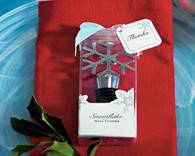 Wedding Favors - Weddingstar Snowflake Shaped Wine Stopper. Wine Bottle Stoppers to make your day special.