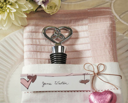 Wedding Favors - Weddingstar The Love Knot Bottle Stopper with Gift Packaging. Wine Bottle Stoppers to make your day special.