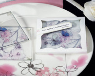 Cheap Wedding Favors - Weddingstar Artistic Botanical Coaster Set. Coaster Favors to make your day special.