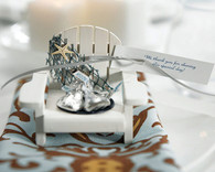 Wedding Favors - Weddingstar Wooden Deck Chair Candle Holders. Candle Wedding Favors to make your day special.