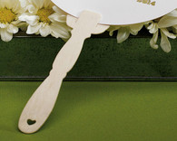 Wedding Favors - Weddingstar Eco - Wooden Ornate Handles for Hand Fans. Hand Fans to make your guests cool and in style.