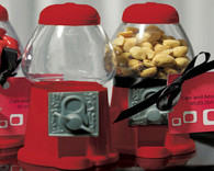 Wedding Party Favors - Weddingstar Empty Classic Red Gumball Machine. Gumball Dispensers to add the perfect finishing touch to your wedding.