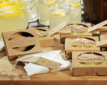 Wedding Favor Boxes - ??weetie Pies??Mini Pie Packaging Kits