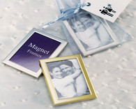 Wedding Favors - Weddingstar Magnet Back Mini Photo Frames Matte. Place Card Holders to make your day special.