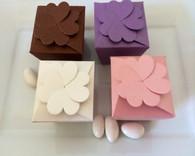 Wedding Favor Boxes - Flower Top Favor Boxes