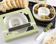 Kate Aspen - ??live You??Olive Tray and Spreader