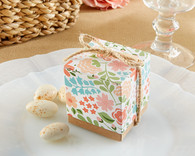 "Kate Aspen - ""Floral Dreams"" Floral Favor Box (Set of 24)"