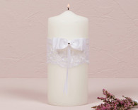 Wedding Decorations - Weddingstar Beverly Clark French Lace Collection Unity Candle