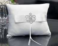 Wedding Accessories - Weddingstar Beverly Clark The Crowned Jewel Collection Ring Pillow