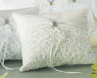 Wedding Decoration - Weddingstar Bridal Tapestry Square Ring Pillow