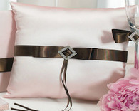 Wedding - Weddingstar Chocolate & Strawberry Cream Square Ring Pillow