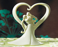Wedding Cake Toppers - Weddingstar Stylish Embrace Cake Topper
