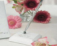 Wedding Decorations - Weddingstar Fairy Tale Dreams Satin Wrapped Pen Set