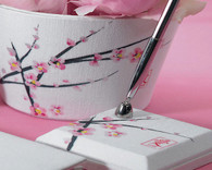 Wedding Decorations - Weddingstar Cherry Blossom Pen Set