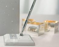 Wedding Reception - Weddingstar Platinum By Design Satin Wrapped Pen Set
