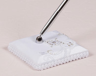 Wedding Reception Ideas - Weddingstar Beverly Clark Royal Lace Collection Pen with Base