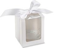 White Shot Glass Gift Box (Set of 12)