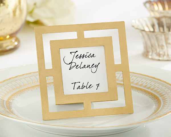 Wedding Favours Classic Gold Frame