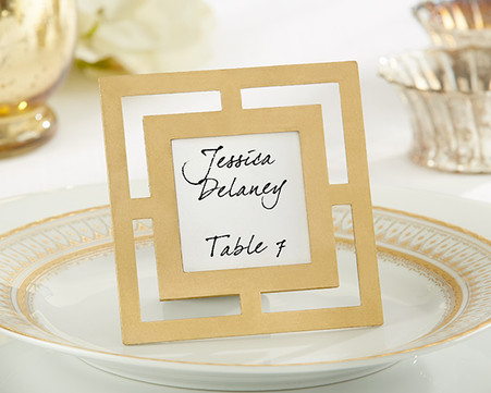 Wedding Favours - Classic Gold Frame