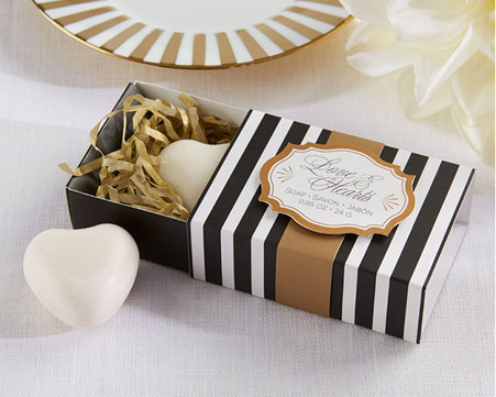 Wedding Favours - Classic Heart Scented Soap