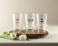 Wedding Favors - Personalized Pint Glass 16 oz.