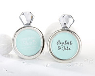 Wedding Favors - Something Blue Diamond Ring Frame